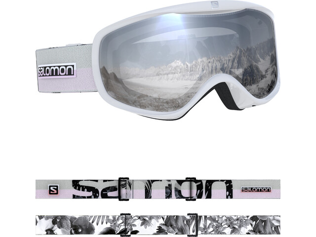 Salomon Sense Goggles Damen white flower
